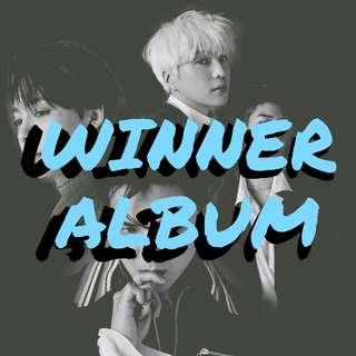 WINNER ALBUM pre-order
