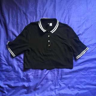 LF: H&M RED POLO