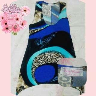 Preloved Blue flowy dress