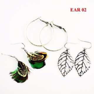 women trendy earrings