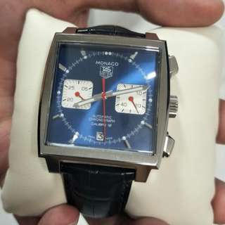 TAG HEUER MONACO  CALIBRE 12  AUTOMATIC Chronograph 100 m - 39 mm