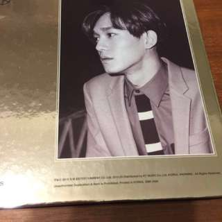 Exo正規專輯 隨機附exo小禮物