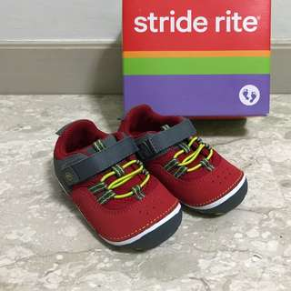 Stride Rite Toddler Shoes, Sz 6, SM Amos/Red