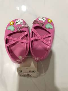 H&M Baby Pink Shoes