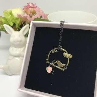 手工 小鳥系列頸鍊 Necklace (003)