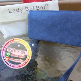 Lady beibei 真皮女用手拿包