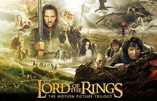 The Lord Of The Rings - Trilogy Wide Screen [DVD 3 Movie lot, 6 Discs]