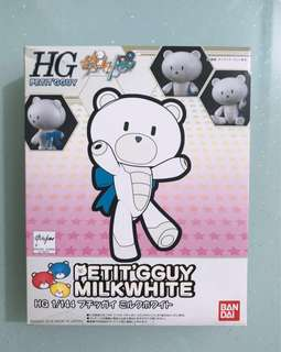 Bandai Gundam HG 1:144 高達 小熊霸 模型 白色