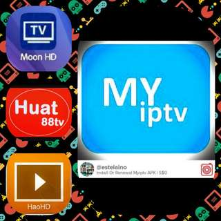 Renewal/Subscription Myiptv