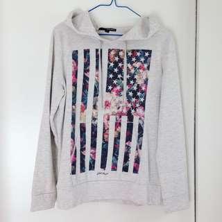 Tally Weijl printed hoodie