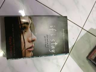 If i stay by Gayle Forman (buku import)