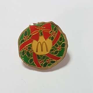 Christmas Present, McDonald's Singapore Pin