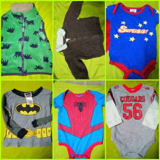 Baby boy onesies (clothes)