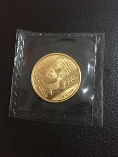 2014 China Panda Gold, 1 oz