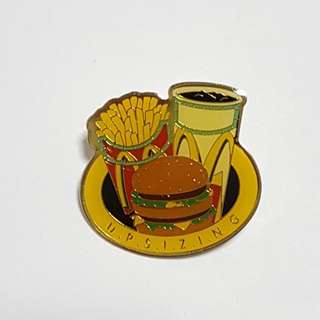 Up Sizing, McDonald's Singapore Pin
