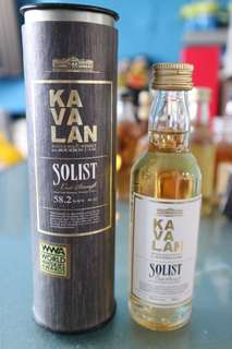 Kavalan Single Malt Whisky ex-Bourbon Cask