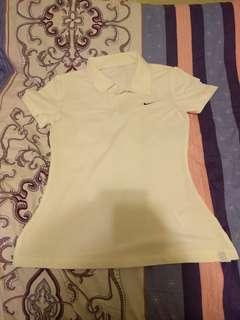 Nike Woman Polo Shirt White (Size S)