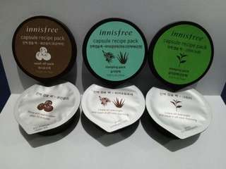 Innisfree Best Capsule Recipe Pack Collection