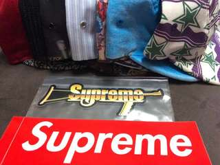Supreme Original Automatic Gun Sticker