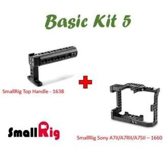 SmallRig Sony A7II/A7RII/A7SII (1660) + Top Handle (1638)