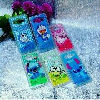 Cartoon water glitter case