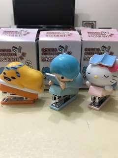 🚚 Sanrio造型訂書機(3入)