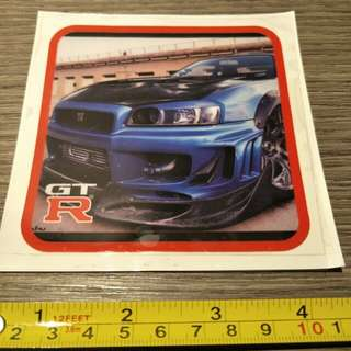 Car decals for windows or windshield