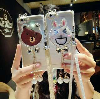 Quicksand brown/cony line case