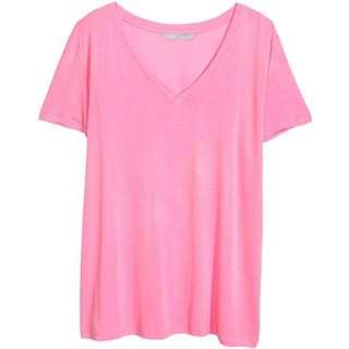 H&M Pink T Shirt
