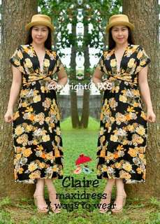 Ws : 370  Claire Maxi dress  Fit small to semilarge