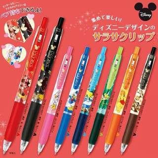 [PO] SARASA Disney pen individual/set