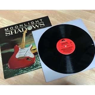 """Vinyl LP 12-Inch, The Shadows""""Moonlight Shadows"""", 1986 UK Press, VG"""
