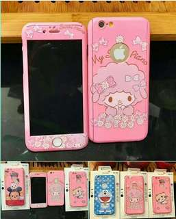 Case iPAKY 360 Disney + tempered glass