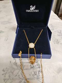 Swarovski Necklace 100%real ,99%new
