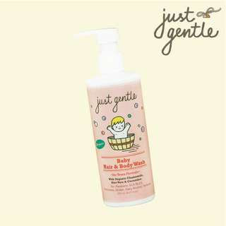 Organic baby hair and body wash
