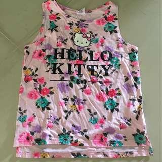 Sleeveless Hello Kitty TOP