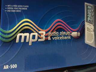 MP3 Player and Voice Bank
