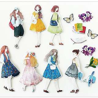 Stickers - Girl #1 (18pc)
