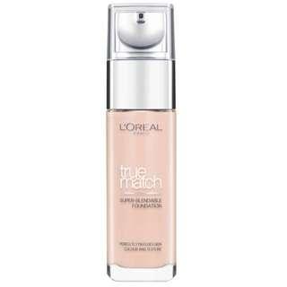L'oréal True Match liquid foundation