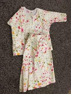 baju kurung Infants