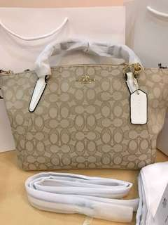 Original coach women medium handbag kesley