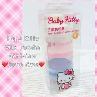 *NEW IN IN SG* Hello Kitty Milk Container
