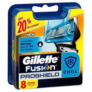 Gillette Fusion Proshield 8s - 3 for $70