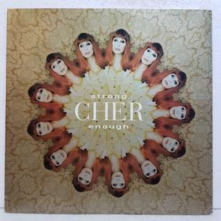 CHER - Strong Enough Vinyl Record