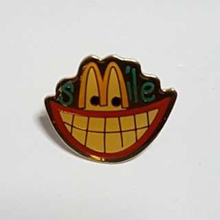 Smile (Smiling Teeth), McDonald's Singapore Pin