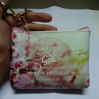 BRANDNEW Bible Inspiring Verse Wallet/Coin Purse/Pouch