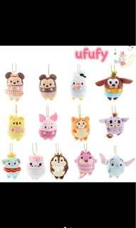 [PO] Tsum Tsum Cute Ufufy Keychain