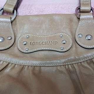 Longchamp Leather Handbag.