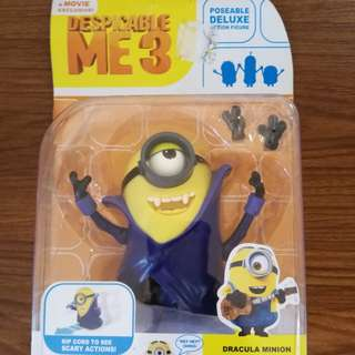 Despicable Me 3 Dracula Minion STUART