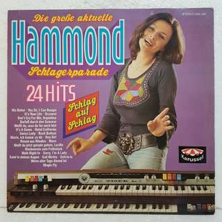 Hammond 24 Hits Vinyl Record